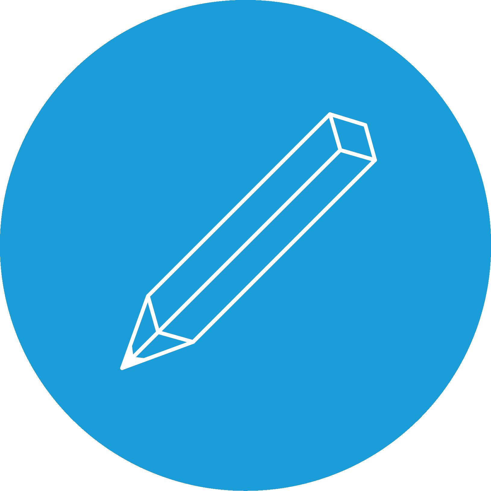 Ikon som symboliserer produktudviking