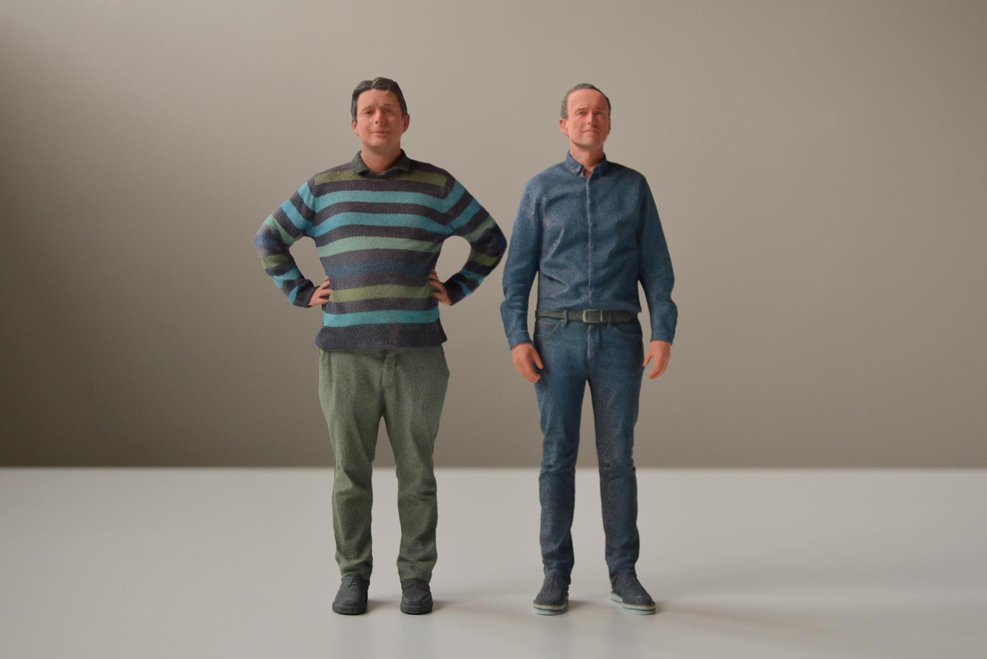 3D printede Anders og Karsten
