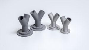 3D printede emner i metal