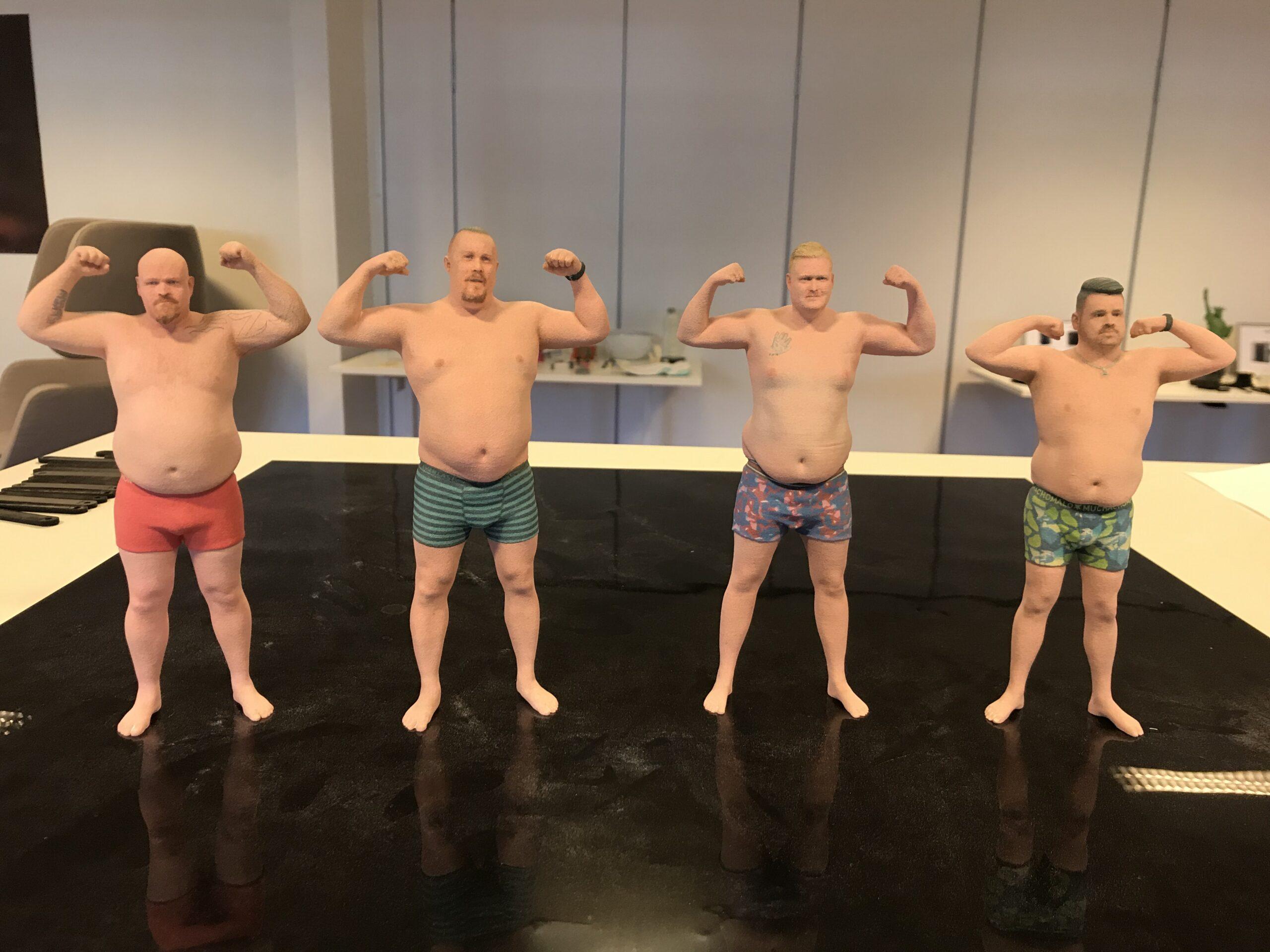 De nye rigtige mænd er blevet 3D-printet hos IBA Nexttech